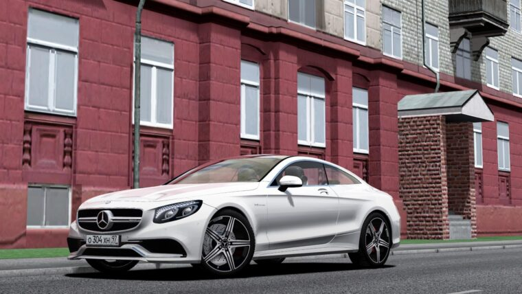 2016 Mercedes-Benz S63 AMG Coupe (1.5.9) - City Car Driving мод