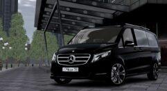2016 Mercedes-Benz V-Class (1.5.9) - City Car Driving мод (изображение 4)