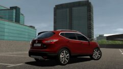 2016 Nissan Qashqai (1.5.9) - City Car Driving мод (изображение 2)