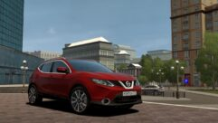 2016 Nissan Qashqai (1.5.9) - City Car Driving мод (изображение 4)