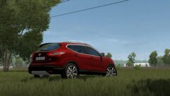 2016 Nissan Qashqai (1.5.9) - City Car Driving мод (изображение 6)