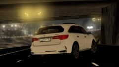 2017 Acura MDX Sport Hybrid (1.5.9) - City Car Driving мод (изображение 3)