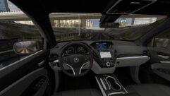 2017 Acura MDX Sport Hybrid (1.5.9) - City Car Driving мод (изображение 4)