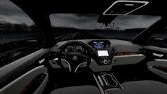 2017 Acura MDX Sport Hybrid (1.5.9) - City Car Driving мод (изображение 7)