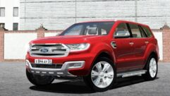 2017 Ford Everest Titanium (1.5.9) - City Car Driving мод