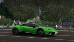 2017 Lamborghini Huracan Performante (1.5.9) - City Car Driving мод (изображение 10)