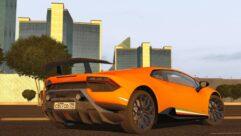 2017 Lamborghini Huracan Performante (1.5.9) - City Car Driving мод (изображение 2)