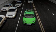 2017 Lamborghini Huracan Performante (1.5.9) - City Car Driving мод (изображение 4)
