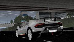 2017 Lamborghini Huracan Performante (1.5.9) - City Car Driving мод (изображение 8)