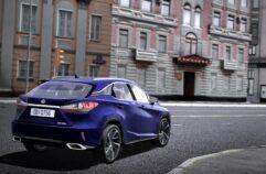 2017 Lexus RX 350 (1.5.9) - City Car Driving мод (изображение 2)