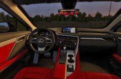 2017 Lexus RX 350 (1.5.9) - City Car Driving мод (изображение 3)