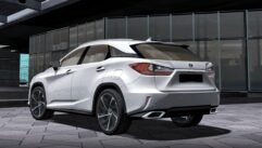 2017 Lexus RX 350 (1.5.9) - City Car Driving мод (изображение 5)