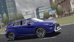 2017 Lexus RX 350 (1.5.9) - City Car Driving мод (изображение 6)