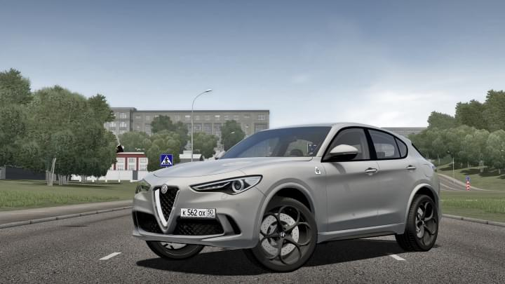 2018 Alfa Romeo Stelvio Quadrifoglio (1.5.9) - City Car Driving мод