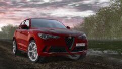 2018 Alfa Romeo Stelvio Quadrifoglio (1.5.9) - City Car Driving мод (изображение 2)