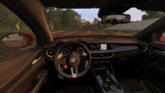 2018 Alfa Romeo Stelvio Quadrifoglio (1.5.9) - City Car Driving мод (изображение 3)