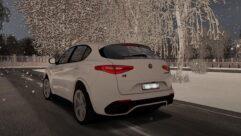 2018 Alfa Romeo Stelvio Quadrifoglio (1.5.9) - City Car Driving мод (изображение 4)