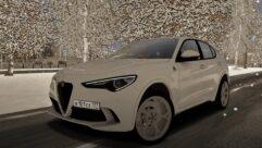 2018 Alfa Romeo Stelvio Quadrifoglio (1.5.9) - City Car Driving мод (изображение 5)