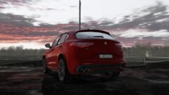 2018 Alfa Romeo Stelvio Quadrifoglio (1.5.9) - City Car Driving мод (изображение 7)