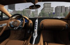 2018 Bugatti Chiron (1.5.9) - City Car Driving мод (изображение 3)