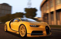 2018 Bugatti Chiron (1.5.9) - City Car Driving мод (изображение 4)