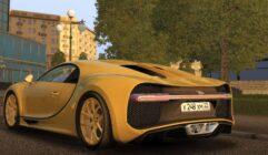 2018 Bugatti Chiron (1.5.9) - City Car Driving мод (изображение 5)