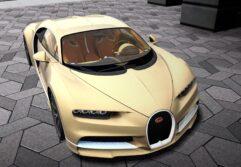 2018 Bugatti Chiron (1.5.9) - City Car Driving мод (изображение 7)