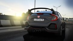 2018 Honda Civic Type R (1.5.9) - City Car Driving мод (изображение 2)