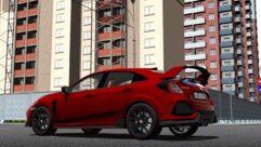 2018 Honda Civic Type R (1.5.9) - City Car Driving мод (изображение 5)