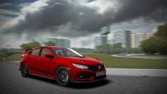 2018 Honda Civic Type R (1.5.9) - City Car Driving мод (изображение 7)