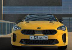 2018 Kia Stinger GT (1.5.9) - City Car Driving мод (изображение 11)
