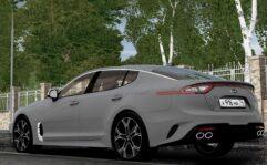 2018 Kia Stinger GT (1.5.9) - City Car Driving мод (изображение 12)