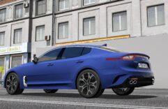 2018 Kia Stinger GT (1.5.9) - City Car Driving мод (изображение 13)