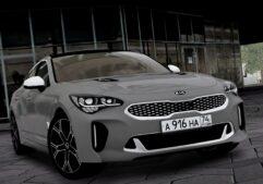 2018 Kia Stinger GT (1.5.9) - City Car Driving мод (изображение 2)