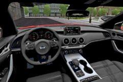2018 Kia Stinger GT (1.5.9) - City Car Driving мод (изображение 4)
