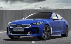 2018 Kia Stinger GT (1.5.9) - City Car Driving мод (изображение 5)