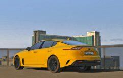 2018 Kia Stinger GT (1.5.9) - City Car Driving мод (изображение 6)