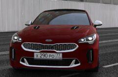 2018 Kia Stinger GT (1.5.9) - City Car Driving мод (изображение 7)