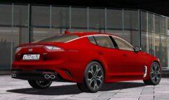 2018 Kia Stinger GT (1.5.9) - City Car Driving мод (изображение 9)