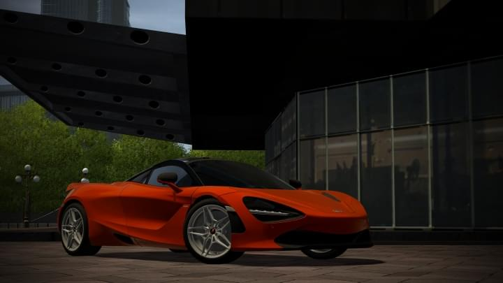 2018 McLaren 720s (1.5.9) - City Car Driving мод