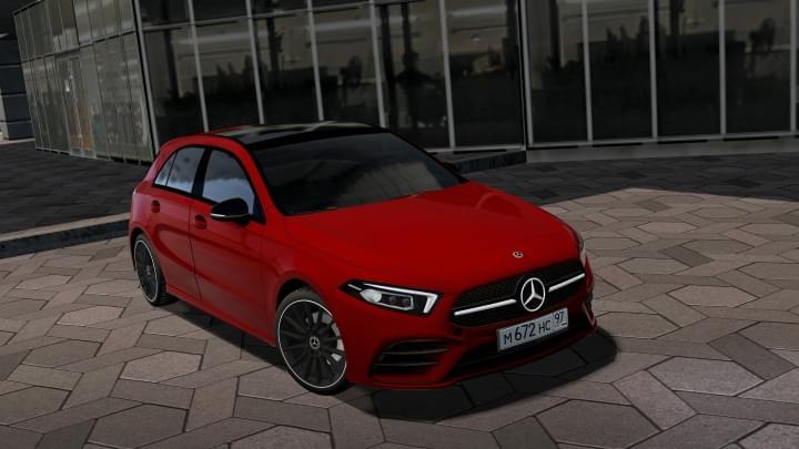 2018 Mercedes-Benz A200 (1.5.9) - City Car Driving мод