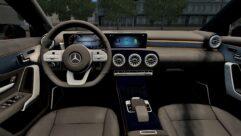 2018 Mercedes-Benz A200 (1.5.9) - City Car Driving мод (изображение 7)