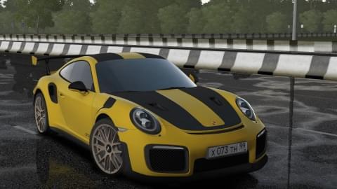 2018 Porsche 911 GT2 RS (1.5.9) - City Car Driving мод