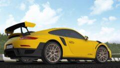 2018 Porsche 911 GT2 RS (1.5.9) - City Car Driving мод (изображение 2)
