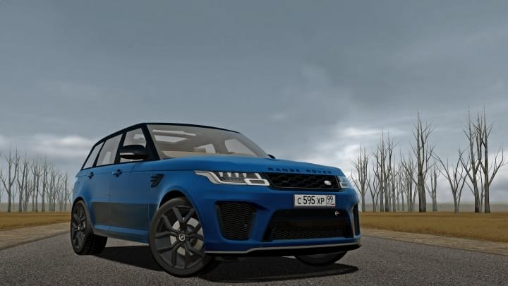 2018 Range Rover Sport SVR (1.5.9) - City Car Driving мод