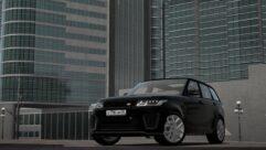 2018 Range Rover Sport SVR (1.5.9) - City Car Driving мод (изображение 10)