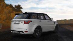 2018 Range Rover Sport SVR (1.5.9) - City Car Driving мод (изображение 2)