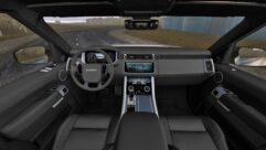 2018 Range Rover Sport SVR (1.5.9) - City Car Driving мод (изображение 6)