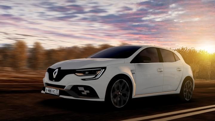 2018 Renault Megane RS (1.5.9) - City Car Driving мод