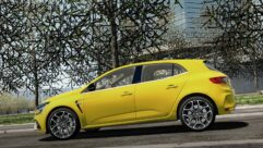 2018 Renault Megane RS (1.5.9) - City Car Driving мод (изображение 9)